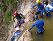 Canyoning, Firmenevent